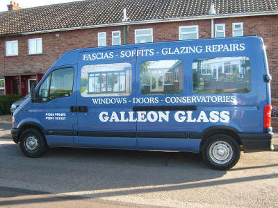 Galleon Glass Van